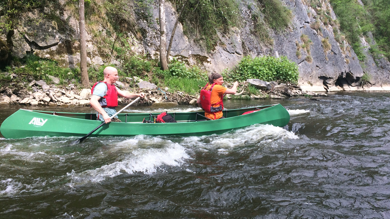 Open Kanovaren wildwater Ardennen